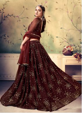 Fancy Sangeet A Line Lehenga Choli