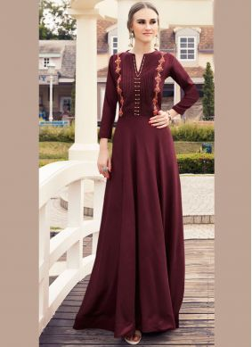 Fetching Embroidered Viscose Party Wear Kurti