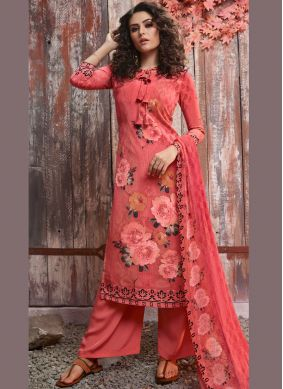 Fetching Printed Casual Pant Style Suit