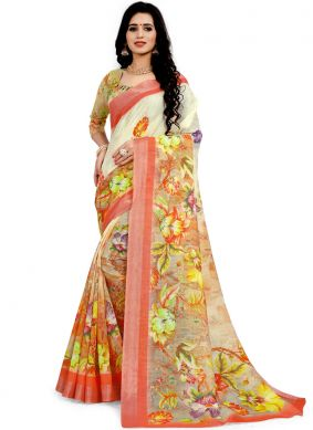Fine Classic Designer Saree For Ceremonial