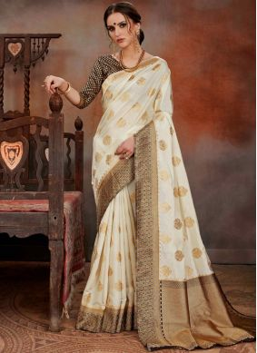 Flamboyant Art Silk Traditional Designer Saree