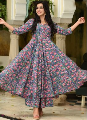 Flamboyant Trendy Palazzo Suit For Festival