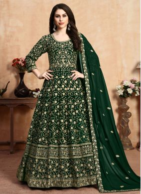 Georgette Embroidered Salwar Kameez