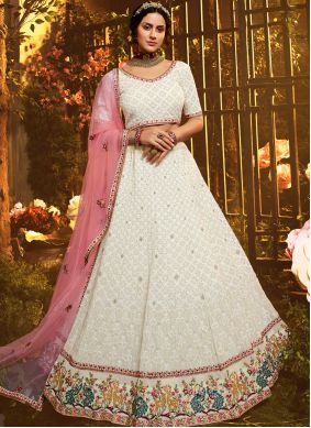 Georgette Engagement Lehenga Choli