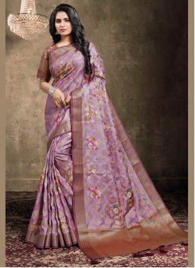 Georgette Multi Colour Digital Print Bollywood Saree