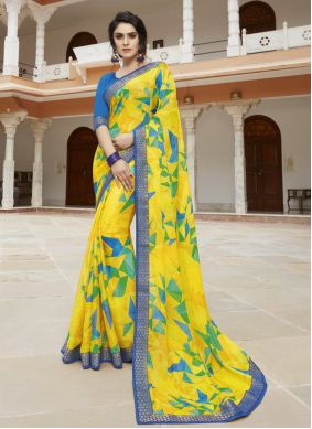 Georgette Party Bollywood Saree