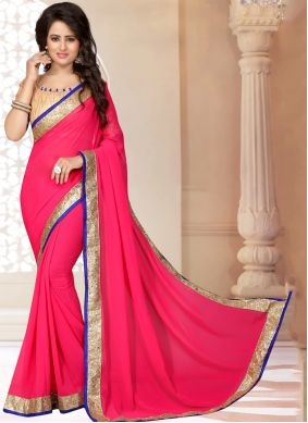 Georgette Party Saree