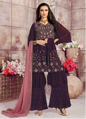 Georgette Readymade Suit