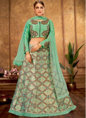 Glowing Silk Wedding Designer Lehenga Choli