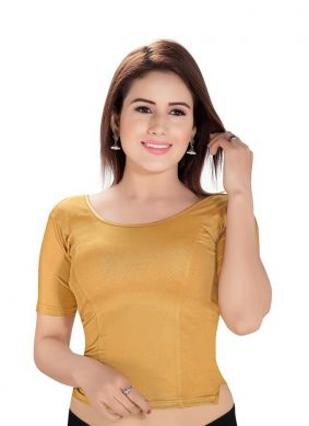Gold Color Blouse