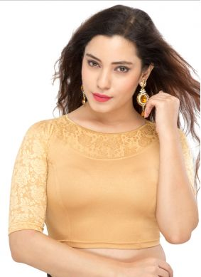 Gold Color Designer Blouse