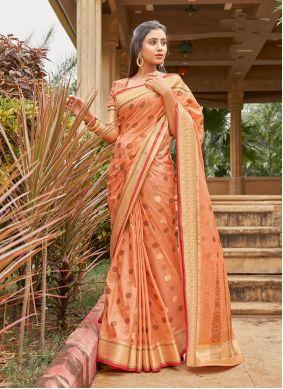Handloom Cotton Weaving Classic Saree