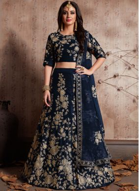 Haute Embroidered Work Lehenga Choli