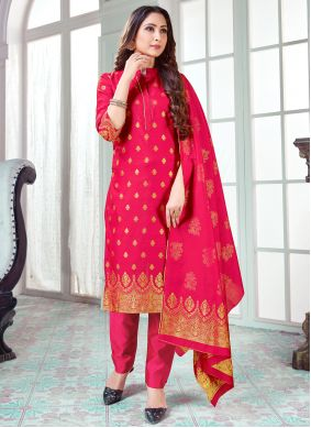 Hot Pink Festival Pant Style Suit