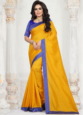 Hypnotic Patch Border Traditional Saree