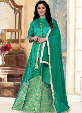 Hypnotizing Fancy Banglori Silk Readymade Lehenga Choli