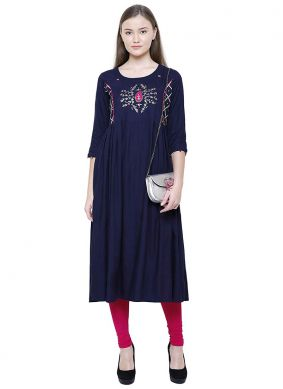 Immaculate Casual Kurti For Party