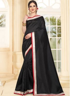 Imperial Black Traditional Saree