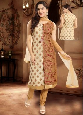 Imposing Embroidered Salwar Suit