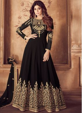 Innovative Zari Wedding Anarkali Suit