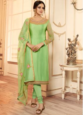 Integral Churidar Designer Suit For Festival