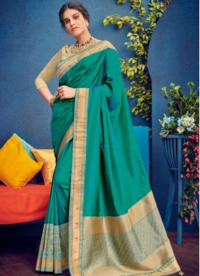 Integral Embroidered Traditional Designer Saree