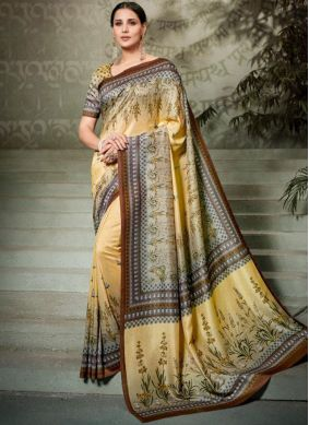 Integral Tussar Silk Traditional Saree