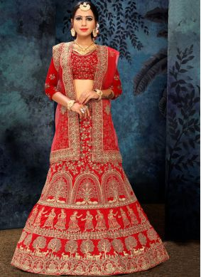 Irresistible Embroidered Lehenga Choli