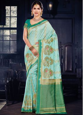 Jazzy Art Silk Wedding Traditional Designer Saree