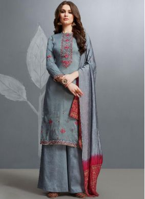 Latest Cotton Designer Palazzo Salwar Suit