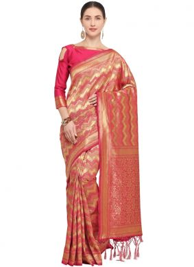 Lively Art Silk Designer Traditional Saree