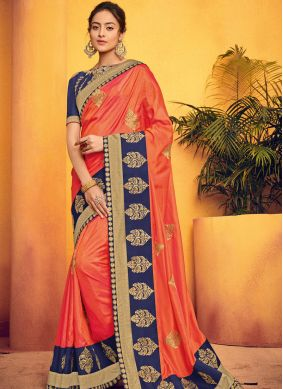 Lovable Embroidered Party Traditional Saree