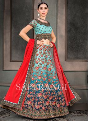 Magnetize Print Fancy Fabric Lehenga Choli