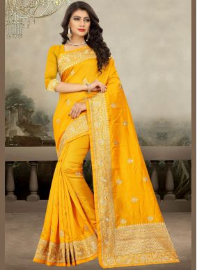 Majesty Art Silk Classic Designer Saree