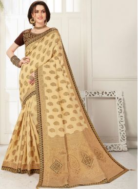 Majesty Embroidered Party Designer Saree