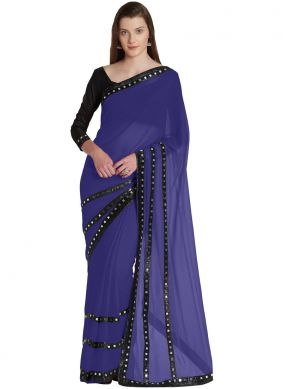 Majesty Lace Casual Saree