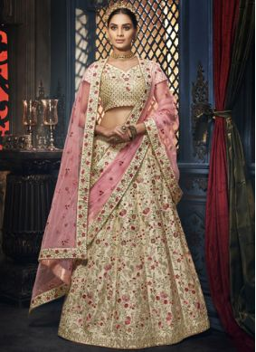 Majesty Silk Wedding Trendy Designer Lehenga Choli