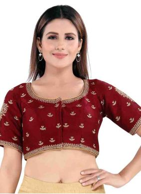 Maroon Color Blouse