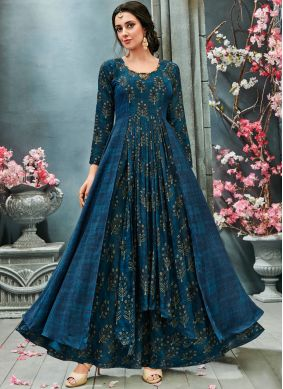 Marvelous Faux Georgette Readymade Gown