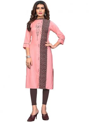 Miraculous Embroidered Party Wear Kurti