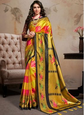 Miraculous Printed Saree For Party