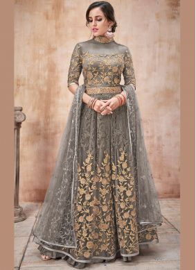 Monumental Resham Reception Designer Salwar Suit