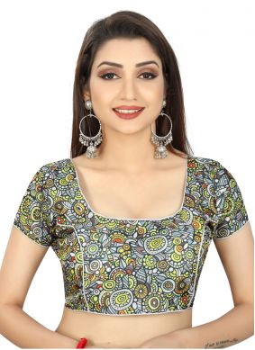 Multi Colour Brocade Designer Blouse
