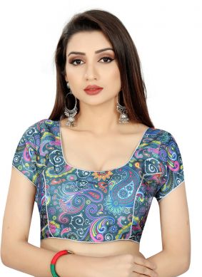 Multi Colour Color Blouse