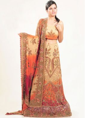 Multi Colour Color Lehenga Choli