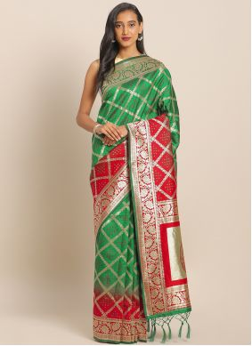 Multi Colour Engagement Saree