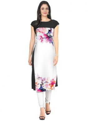 Multi Colour Fancy Casual Kurti