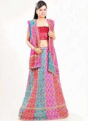 Multi Colour Fancy Fancy Fabric Lehenga Choli