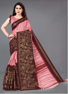 Multi Colour Festival Designer Saree