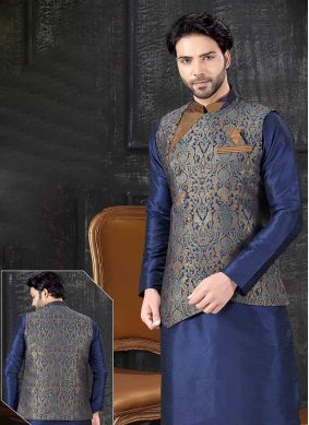 Multi Colour Party Nehru Jackets